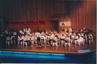 Brisbane festival of music in October 1994