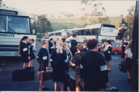 Leaving for the Brisbane festival of music in October 1994
