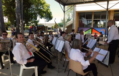 At the Lismore South Public Centenary