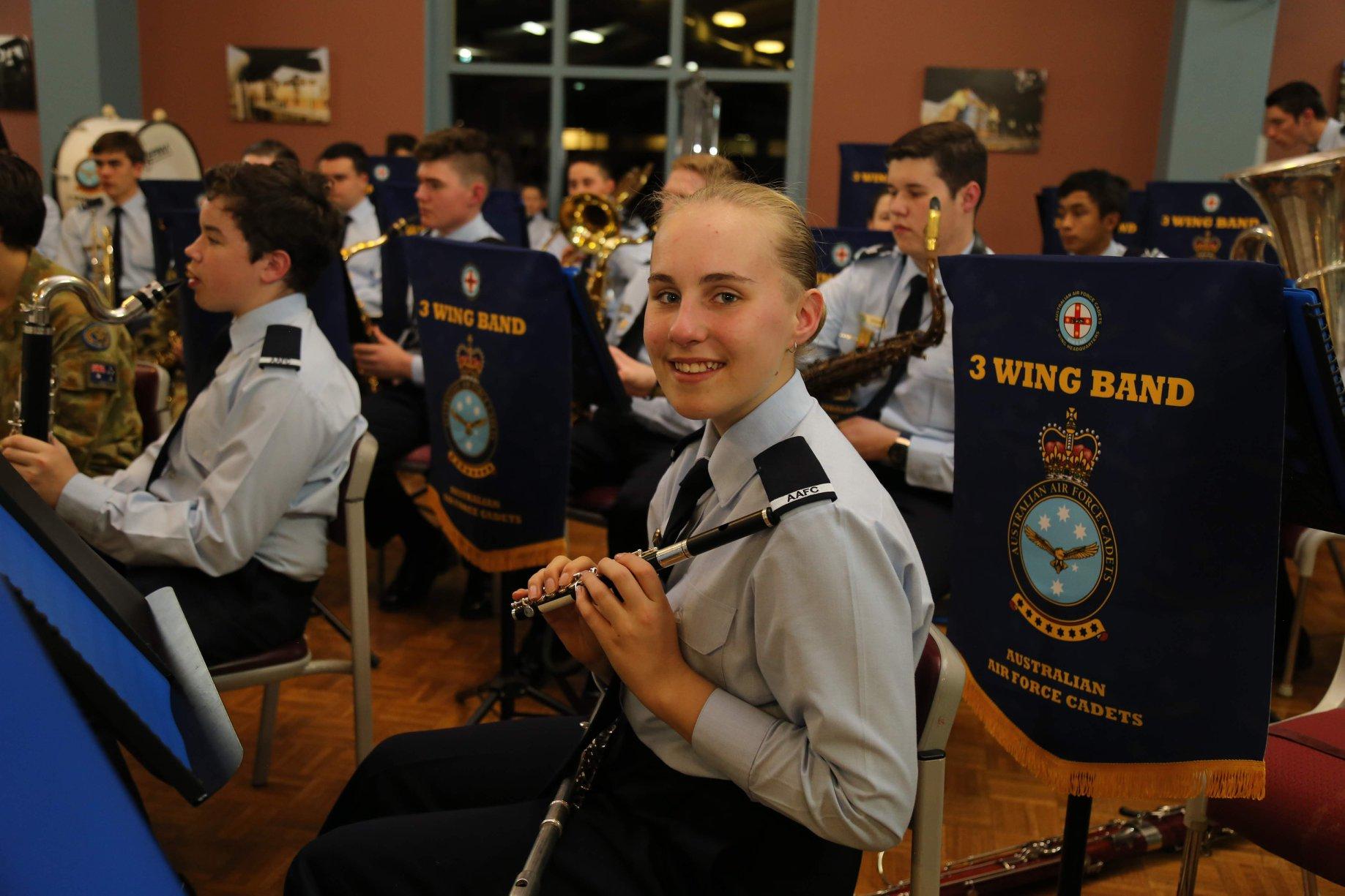 cadets flute